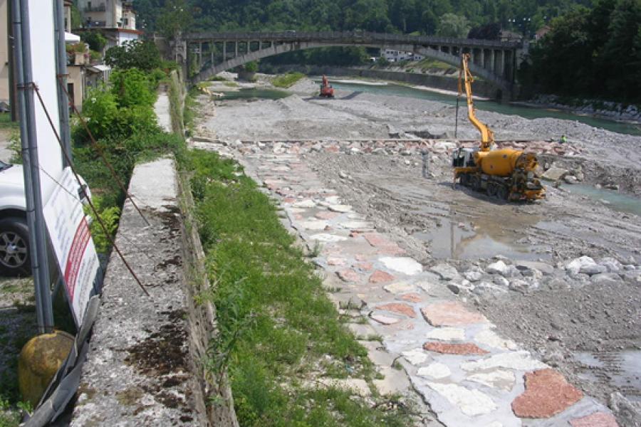 Piave: la Regione riparte con altri 4 milioni di euro di lavori nell'area di Lambioi e nella zona di confluenza con l'Ardo a Belluno città