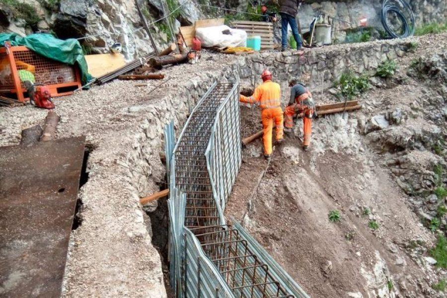 Importanti interventi in Val Ombretta e a Malga Ciapela in Comune di Rocca Pietore