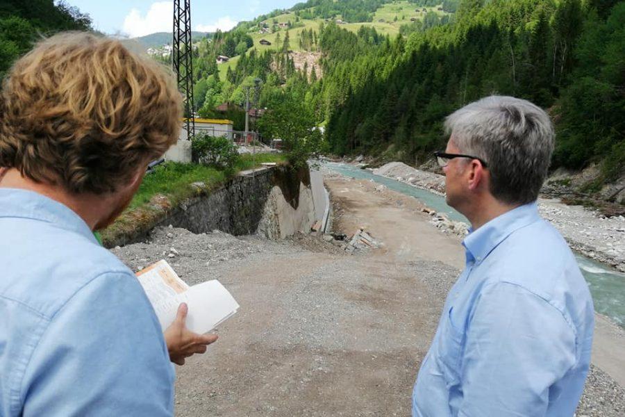 A San Pietro, in Comelico, 11 milioni di euro di lavori per la sicurezza idraulica