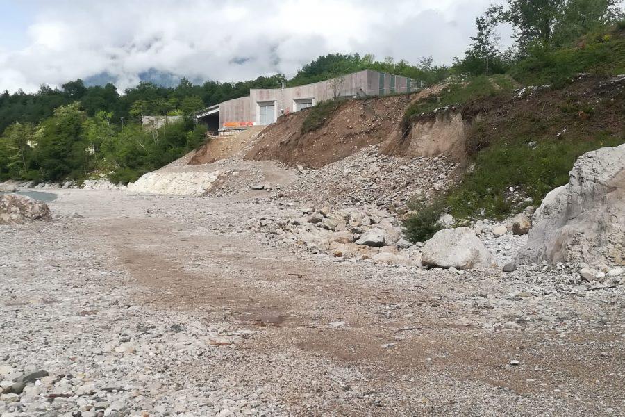 Altri 5 milioni di lavori in Comune di Sospirolo sul torrente Cordevole