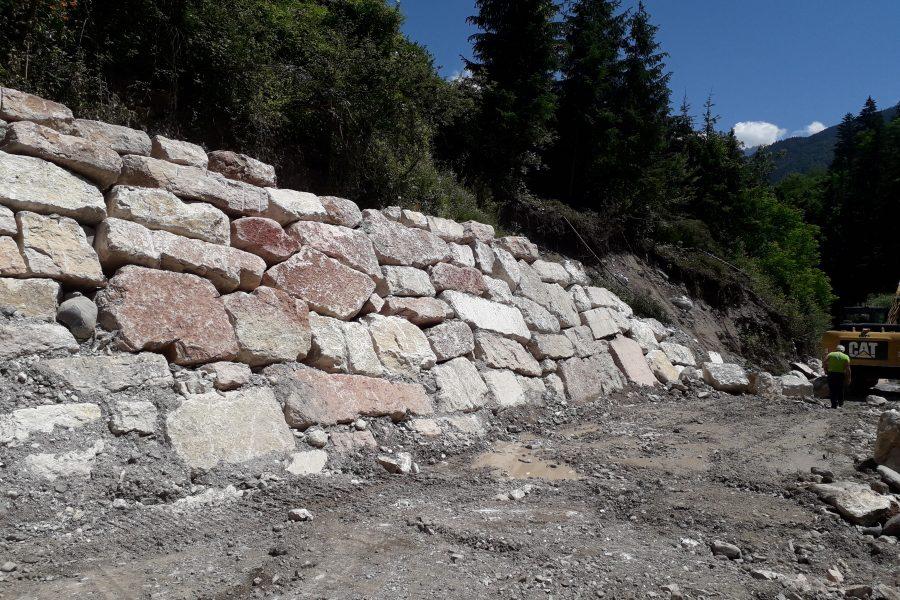 In Centro Cadore importanti lavori arrivati a conclusione a Pieve e in itinere a Calalzo