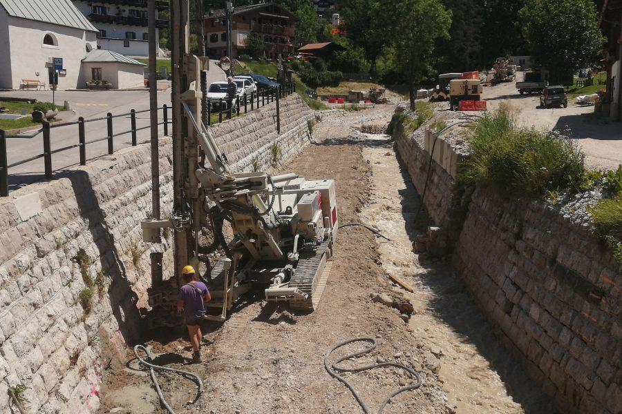 Sedici cantieri in corso a Cortina per un valore di 15 milioni di euro