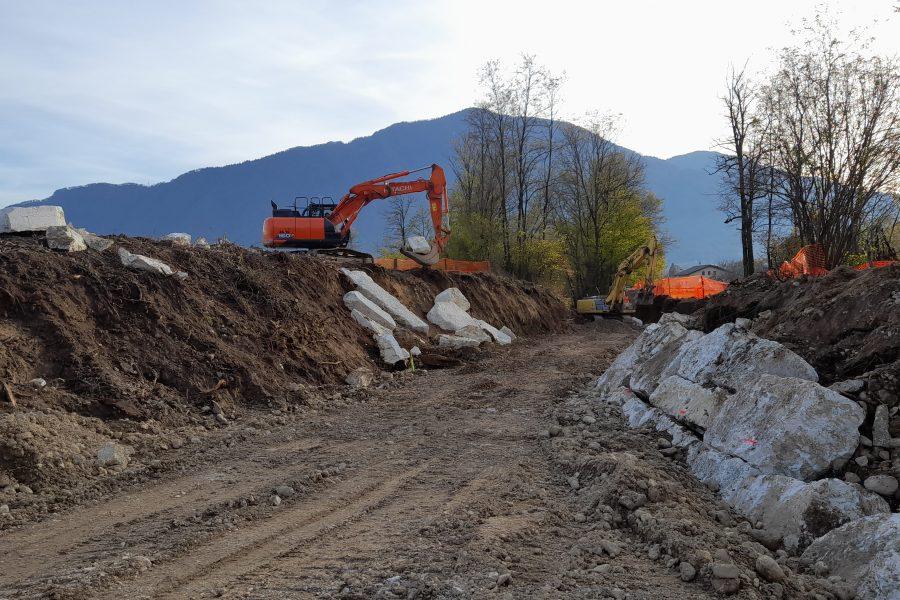 Pronti per inizio dicembre i lavori sul torrente Ligont a Feltre
