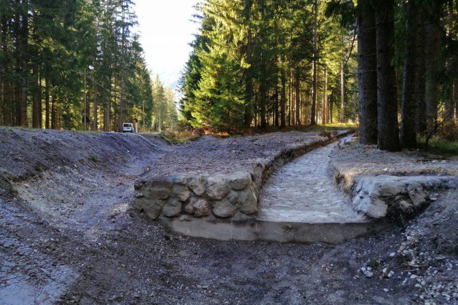 Ad Auronzo completati due interventi forestali per la sicurezza del territorio