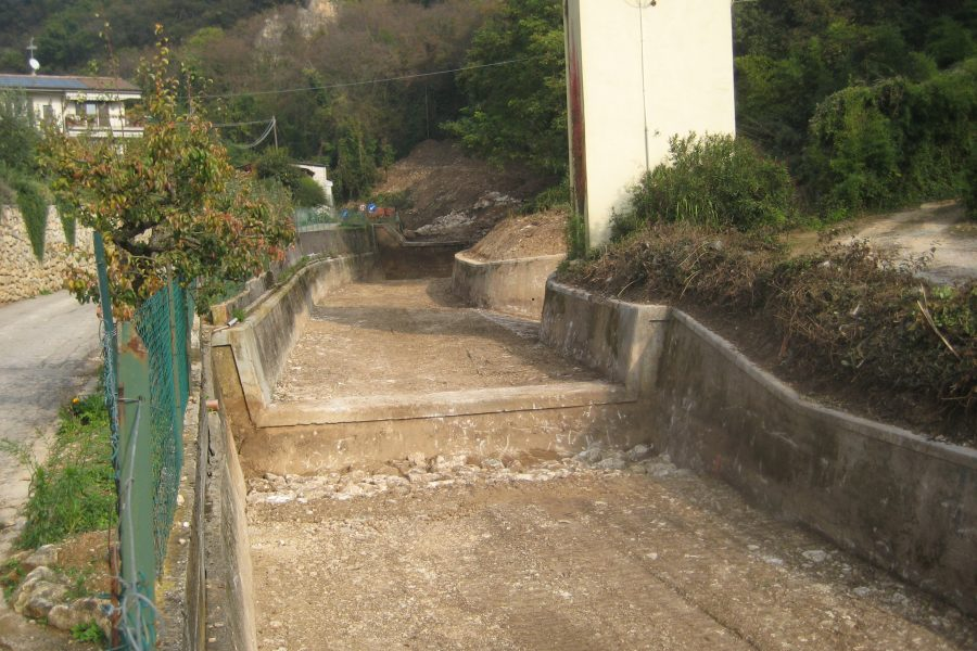 Verso il termine i lavori sul rio Galina ad Avesa di Verona