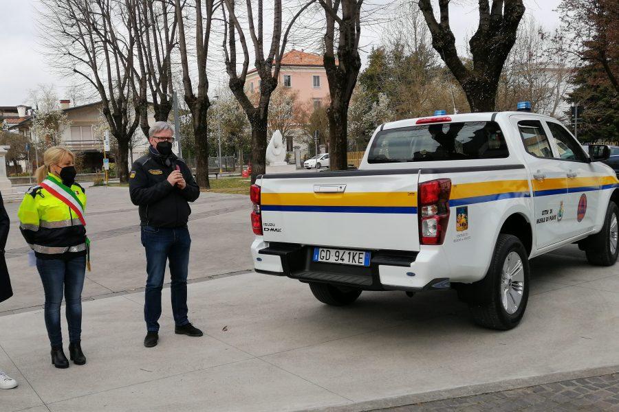 Consegna di un mezzo alla Protezione Civile di Musile di Piave