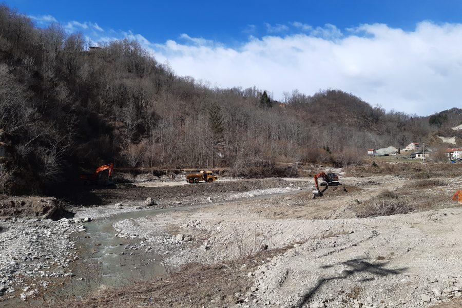 """Altri due importanti cantieri in Alpago sul torrente Tesa. Bottacin: """"la sicurezza del territorio è per noi la priorità delle priorità"""