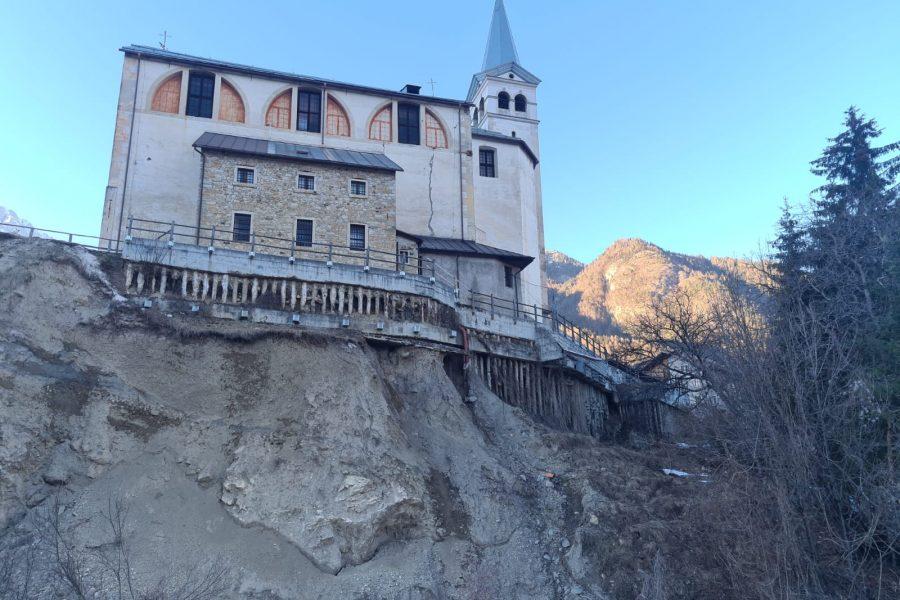 """Chiesa di San Martino a Valle di Cadore (BL). Bottacin: """"prezioso incontro con tutti gli enti interessati per definire i prossimi passi"""""""