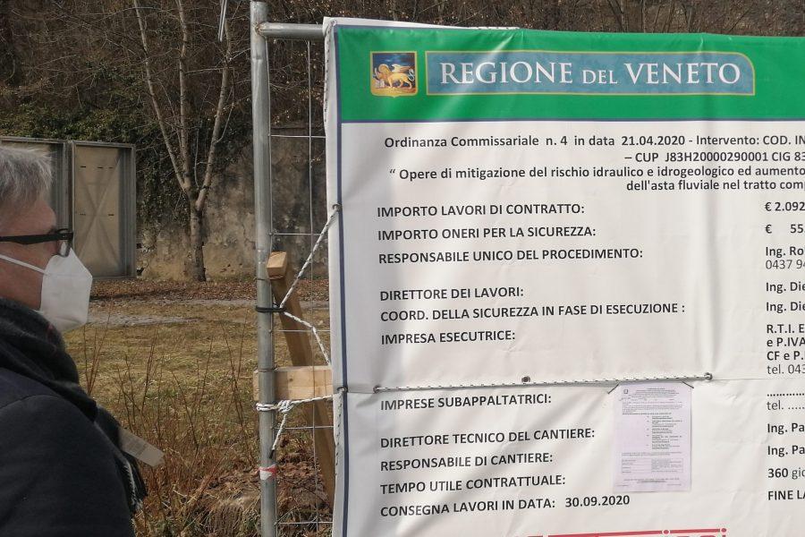 """Dissesto idrogeologico. 3 milioni di euro di interventi tra Seghe di Villa e Bribanet. Bottacin: """"continuano gli interventi per l'aumento della resilienza territoriale"""""""