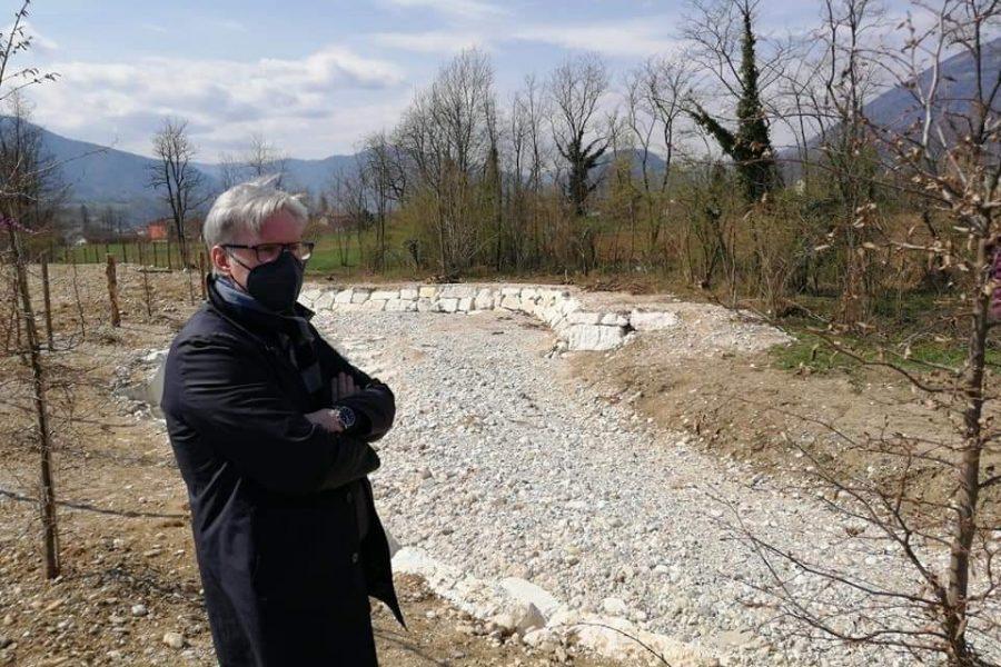 """Sopralluoghi a Cesiomaggiore e Feltre. Bottacin: """"con la primavera al via ancora moltissimi cantieri"""""""