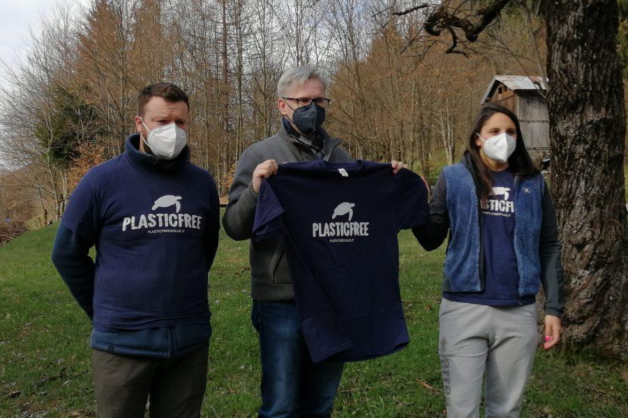 Plastic Free. La giornata di sensibilizzazione a Pieve di Cadore