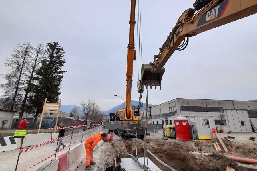 """Lavori in Val Cantuna.  Bottacin: """"nelle scelte priorità alla sicurezza dei cittadini"""""""