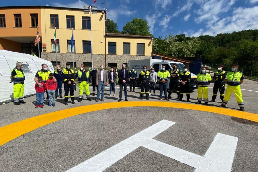 Presentazione delle nuove dotazioni del gruppo di Galzignano Terme