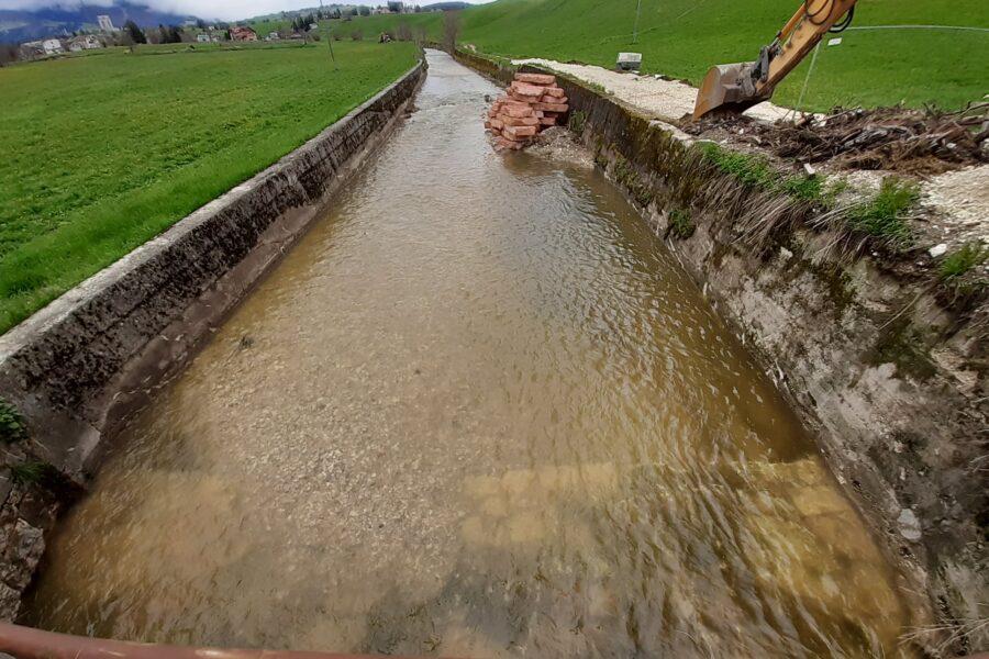 """Asiago e Roana. Recupero della funzionalità idraulica del torrente Ghelpach. L'assessore Bottacin: """"altri 500mila euro a tutela del territorio"""""""
