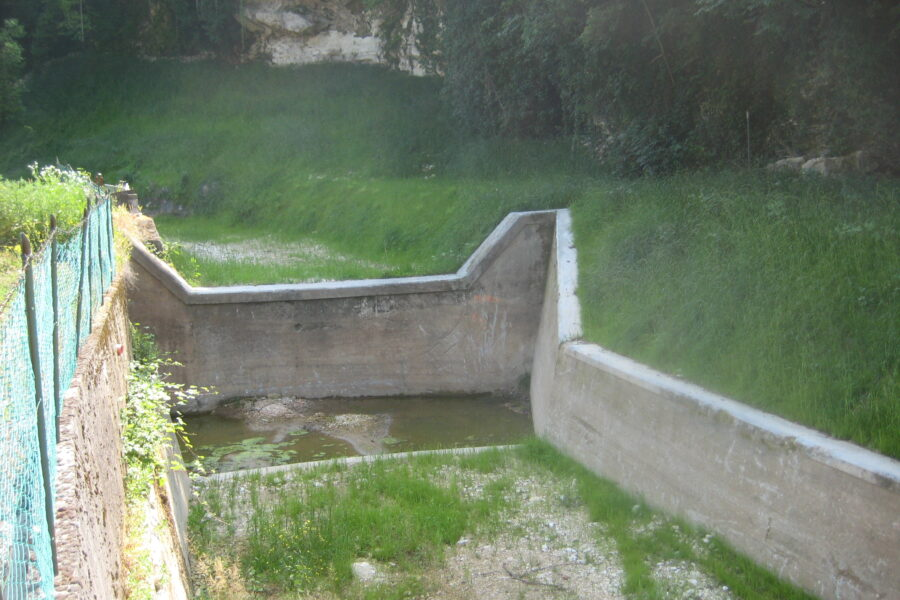 """Verona. Lavori sul rio Galina e l'affluente Vajo Galina.  L'assessore Bottacin: """"tanti interventi di messa in sicurezza e per l'aumento della resilienza dei territori esposti al rischio idrogeologico"""""""