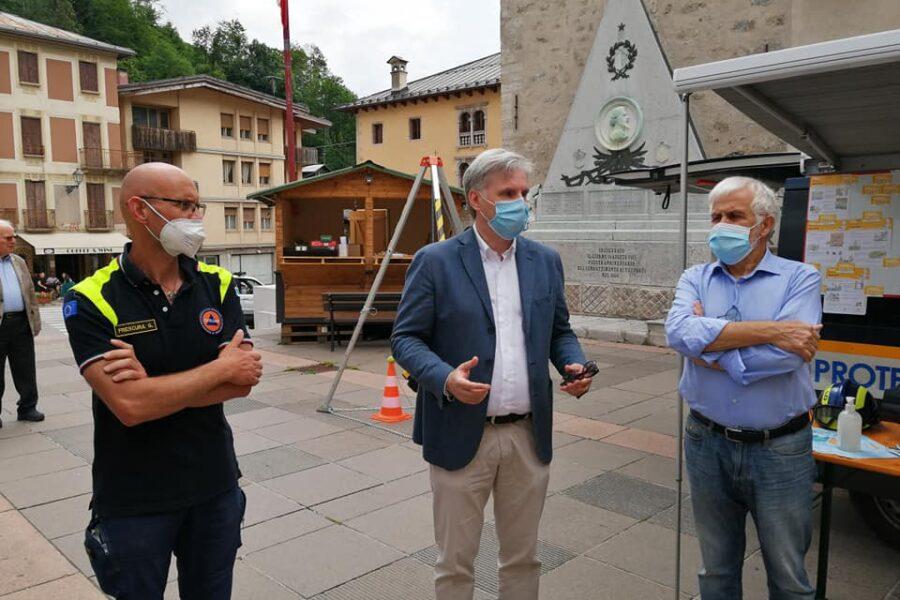 Un nuovo mezzo per il Gruppo cadorino di Protezione Civile Antelao