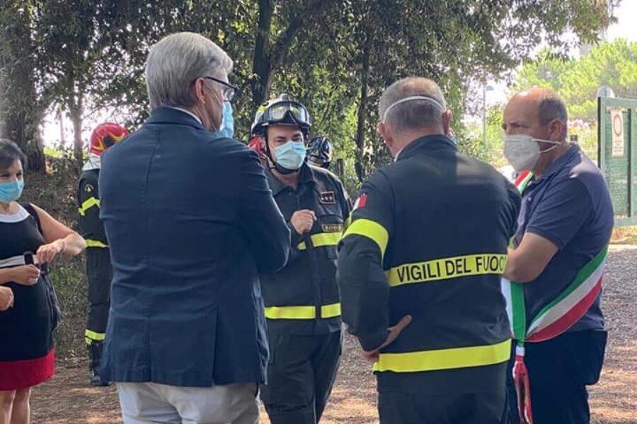 Inaugurato distaccamento estivo dei Vigili del Fuoco a Rosolina Mare