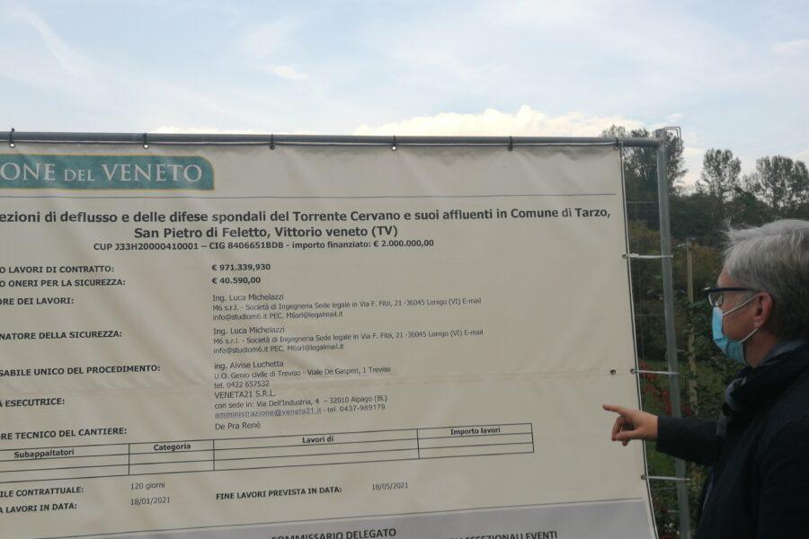 Interventi sulCervanotra Tarzo e San Pietro di Feletto (TV)